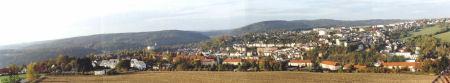Panoramaansicht Greiz von Sven Trommer