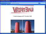 Besteigung des Wertbauturms am 09.11.2005