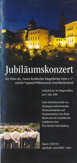Auftritt des Männerchor Irchwitz