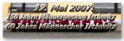 150 Jahre Männerchor Irchwitz