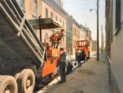 Bauarbeiten am Zieger