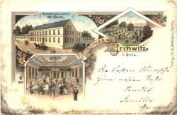 Gasthof Goldener Löwe Irchwitz 1898