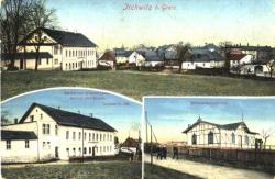 Blick auf Irchwitz 1913